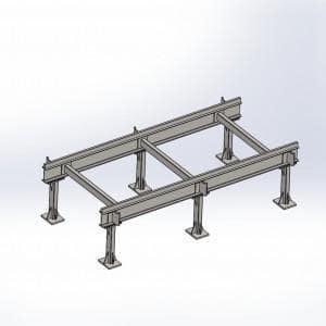 Konstrukcja ramy   konstrukcje stalowe 1